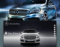 Mercedes-Benz / web design
