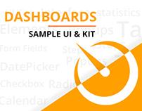 Dashboards Samples, UI KITS, DB UI, Web Dashboard..