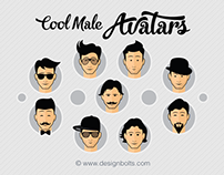 Free Cool Male Avatars | PNGs & Vector Icons