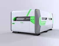 External design of fiber laser cutting machine