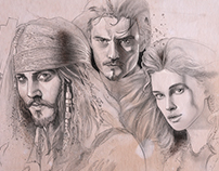 Pirates of the Caribbean sketch