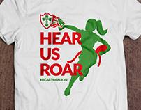 Estampa de Camiseta - Lions