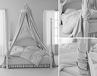 Bed. Beginning