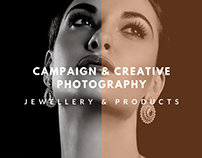 Campaign & Creative Photography (Jewellery)