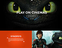 Movie Web Design