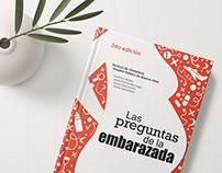 Las preguntas de la embarazada - Book cover design