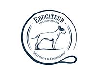 Logo - Éducateur canin