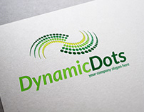 Dynamic Dots Logo Template