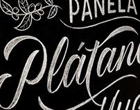 Chalk Lettering - El Gourmet TV