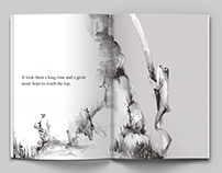Two Frogs – illustrating book for children