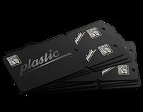Plastic Key Tag Combo Card for marketing programs
