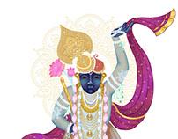 Pichawai Digital Painting