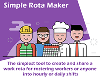 Simple Rota Maker, An app to schedule your workers