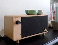 Tabletop speaker NM02
