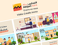 Vidéo Crédits Immo Attijari bank (Motion Design)