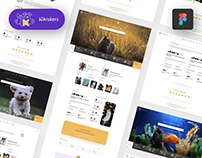🐱 Whiskers — Web Template About Pets