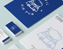 Profil Air Pub branding