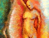 O Nascimento da Vênus no Paint