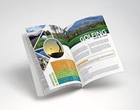Magazine Guide Spread