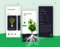 IoT App for Plant | Mobile App