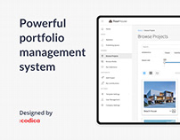 Powerful portfolio management system