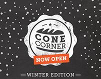 Cone Corner - Winter Concept