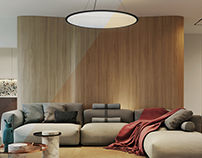 BERT LED pendant light from FLUA