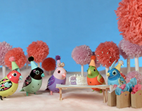 DigiBirds: It's a Birday Party! Set Design & Props