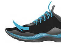 Anta low-cut basketball shoe design