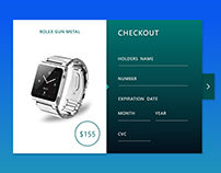 Rolex Watch Checkout Page
