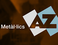Injection moulds AZ logotype