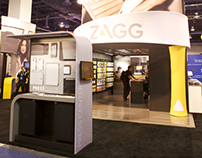 Zagg CES Booth 2014