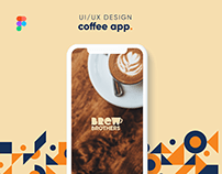 Brew Brothers   Coffee App   UI/UX