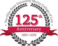 Moritz College of Law 125th Anniversary Branding