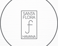 SANTA FLORA, spa & resort branding