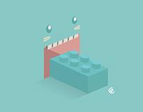 Random vector illustration