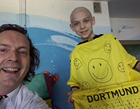 smile from Germany donated by Borussia Dortmund Team