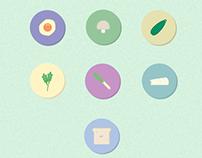 Food icons