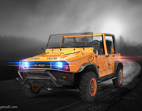 FUREX OFF-ROAD TRUCK CONCEPT FOR CHARLES BOMBARDIER