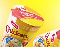Cup Noodles Packaging Design