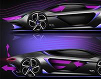 McLaren 720s HYBRID Concept