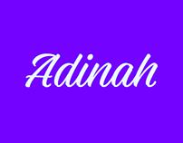 Adinah Typeface