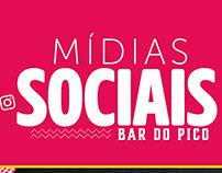 Mídias Sociais Bar do Pico