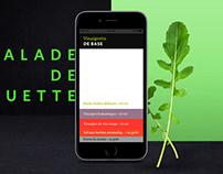 Maison Orphée - Gourmet Helper App