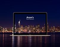 Aram's - UX/UI Design