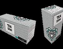 Embalagem de chá TEASIGN