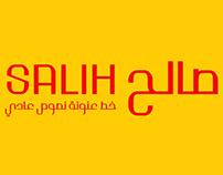 خط صالح/SALIH Font