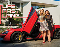 Fashion Spread - LIFE IN THE FAST LANE