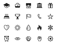 Icon Set for Apps