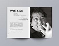 Ruedi Baur - Edition